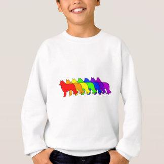 Rainbow Belgian Sheepdog Sweatshirt