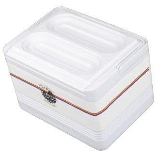 Rainbow best friends custom cooler