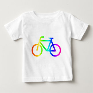 Rainbow Bicycle #3 Baby T-Shirt