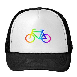 Rainbow Bicycle #3 Trucker Hat