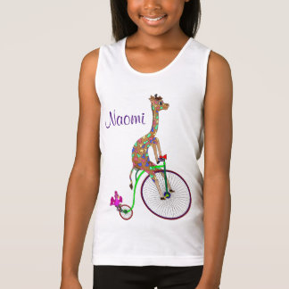 Rainbow Bicycling by The Happy Juul Company Tank Top