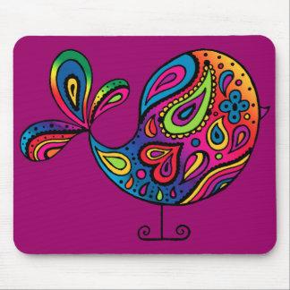 Rainbow Bird Mousepad