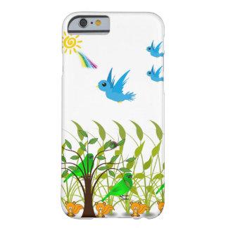 Rainbow, birds flying iphone case for children