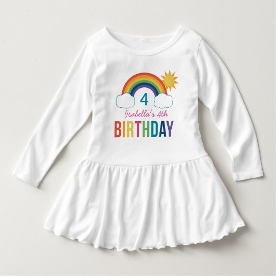 Rainbow Birthday Shirt