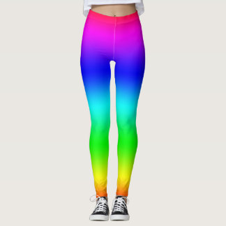 Rainbow Blend Hippy Leggings