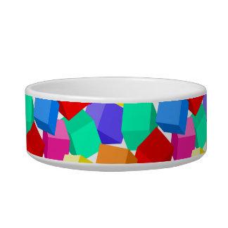 Rainbow blocks bowl