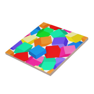 Rainbow blocks tiles