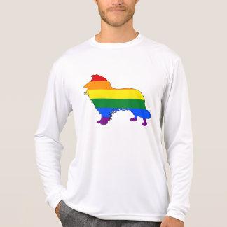 Rainbow Border Collie T-Shirt