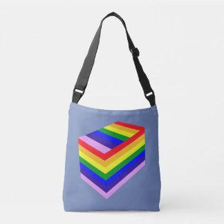 rainbow box pride  All-Over-Print Cross Body Bag