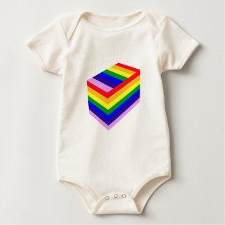 RAINBOW BOX PRIDE BABY BODYSUIT