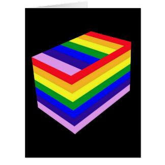 RAINBOW BOX PRIDE GREETING CARD