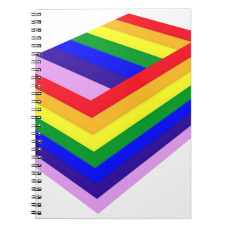 RAINBOW BOX PRIDE NOTEBOOK