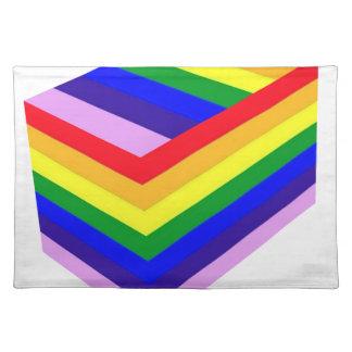 RAINBOW BOX PRIDE PLACEMAT