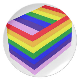 RAINBOW BOX PRIDE PLATE