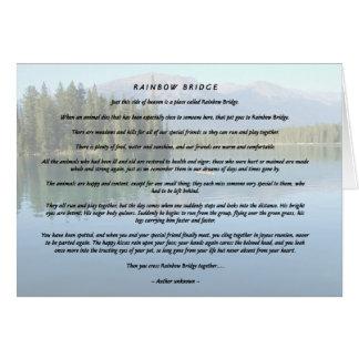 Rainbow Bridge 2 Greeting Card