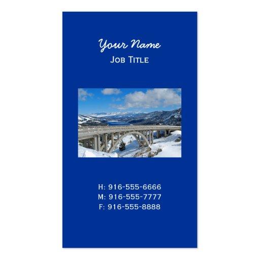 Rainbow Bridge Business Card