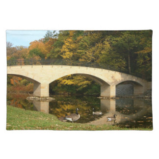 Rainbow Bridge in Fall Placemat