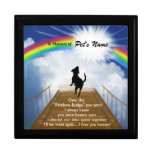 Rainbow Bridge Memorial Poem for Dogs