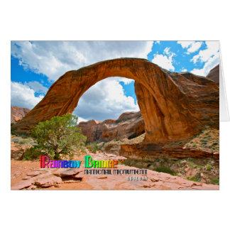 Rainbow Bridge Nat'l Monument Greeting Card