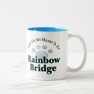 Rainbow Bridge Paw Mug