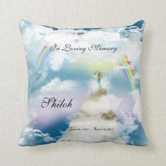 Rainbow Bridge Pet Horse Memorial Pillow