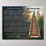 Rainbow Bridge Pet Loss Photo Wall Print