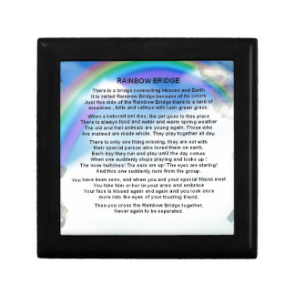 Rainbow Bridge Poem Gift Box