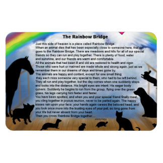 Rainbow Bridge Poem Magnet
