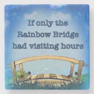 Rainbow Bridge Stone Coaster