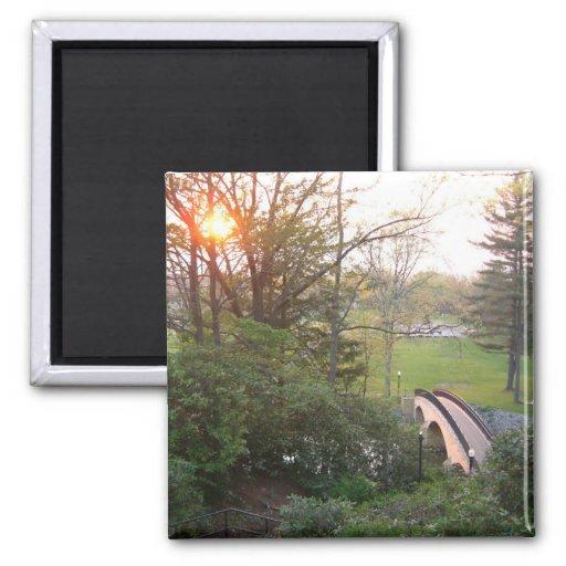 Rainbow Bridge Sunset Magnet