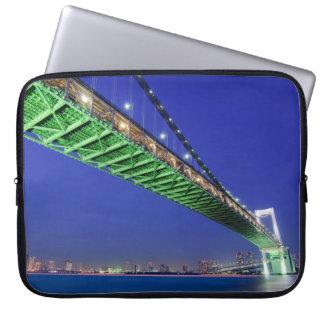 Rainbow Bridge, Tokyo Laptop Sleeves