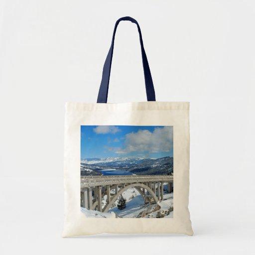 Rainbow Bridge Tote Bag