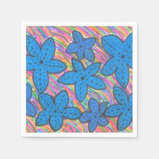 Rainbow Bright Starfish Paper Napkins