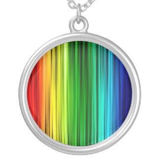 Rainbow Bright Stripes Necklace