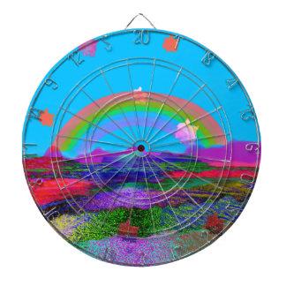 Rainbow brings diversity dartboard
