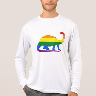 Rainbow Brontosaurus T-Shirt