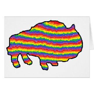 rainbow bruce card
