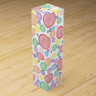 Rainbow Bubbles Lightened Wine Gift Box