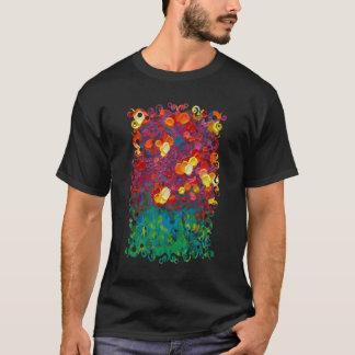 Rainbow Bubbles teardrop rain abstract TSHIRT