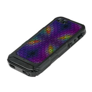 Rainbow Bubblewrap Fractal Disco Lights Incipio ATLAS ID™ iPhone 5 Case