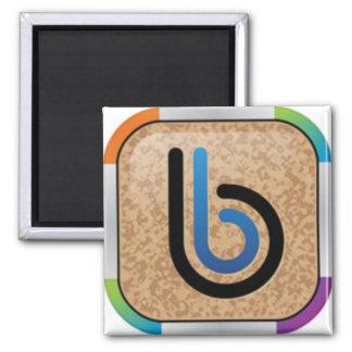 Rainbow Bullytin Board Logo Magnet