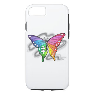 Rainbow Butterfly iPhone 7 Case