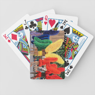 Rainbow Butterfly Men Bicycle Playing Cards