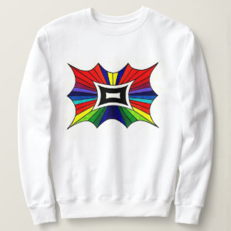Rainbow Butterfly Sweatshirt