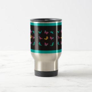 Rainbow Butterfly Travel Mug