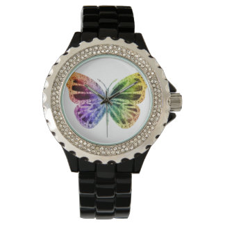 Rainbow Butterfly Watch