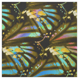Rainbow Butterfly Wings Fabric