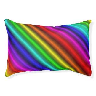 Rainbow Candy Dog Bed