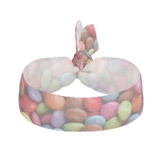 rainbow candy hair tie