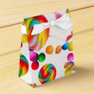 Rainbow Candy Sweet Birthday Party Custom Favor Party Favor Boxes